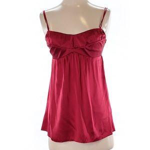 Women's Matty M silk sleeveless blouse XS